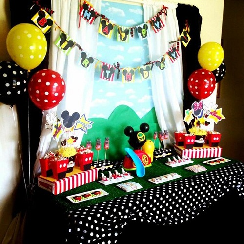 Mickey And Friend Party Themes